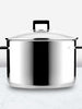 Urbane Stainless Steel High Casserole Pot