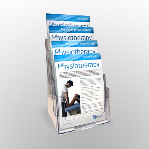 APA Display Stand A4 Package