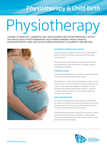 Physio and child birth pad