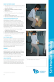 Safe manual handling pad