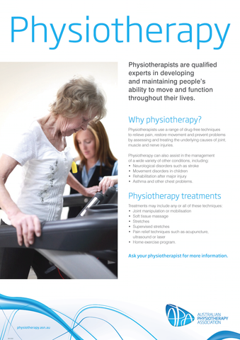 Physio poster