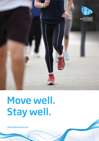 Move well. Stay well. poster