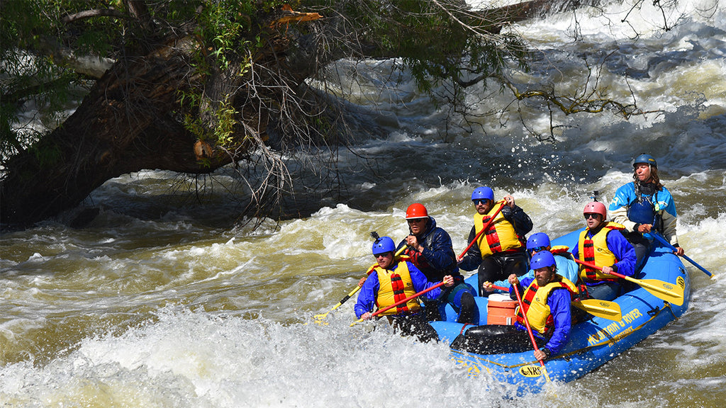 white water rafting on the killer kern
