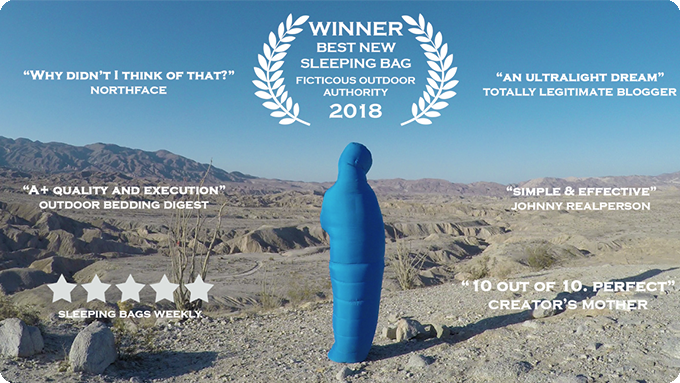 The hottest trailer about sleeping bags. Ever.
