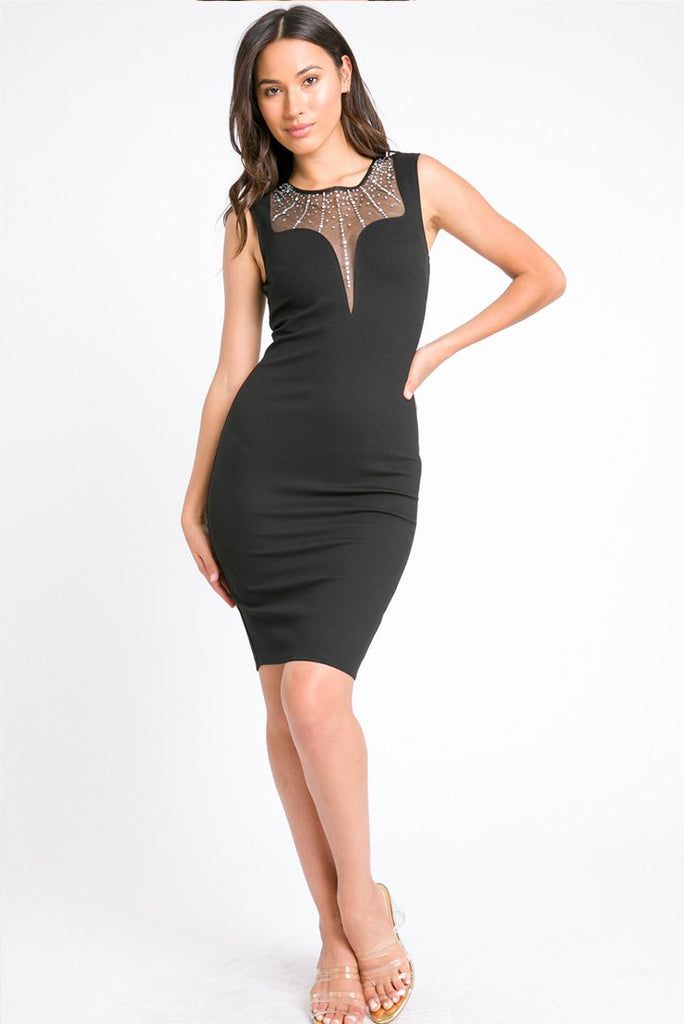 """Shine Bright"" Little Bodycon Dress"