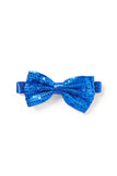 Men's Sequin Bow Tie - Cobalt Blue