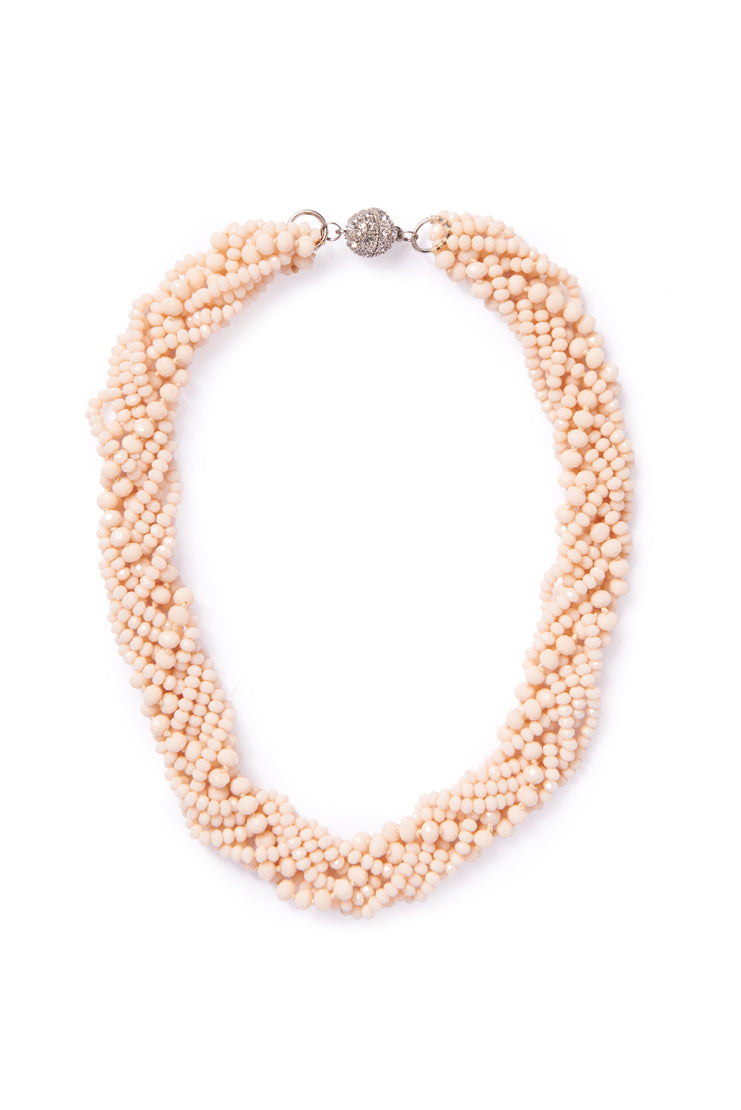 Bone Beaded Collar