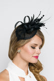 Black Mini Fascinator