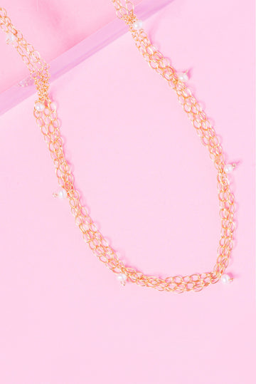 Caged 14k Gold Filled Choker