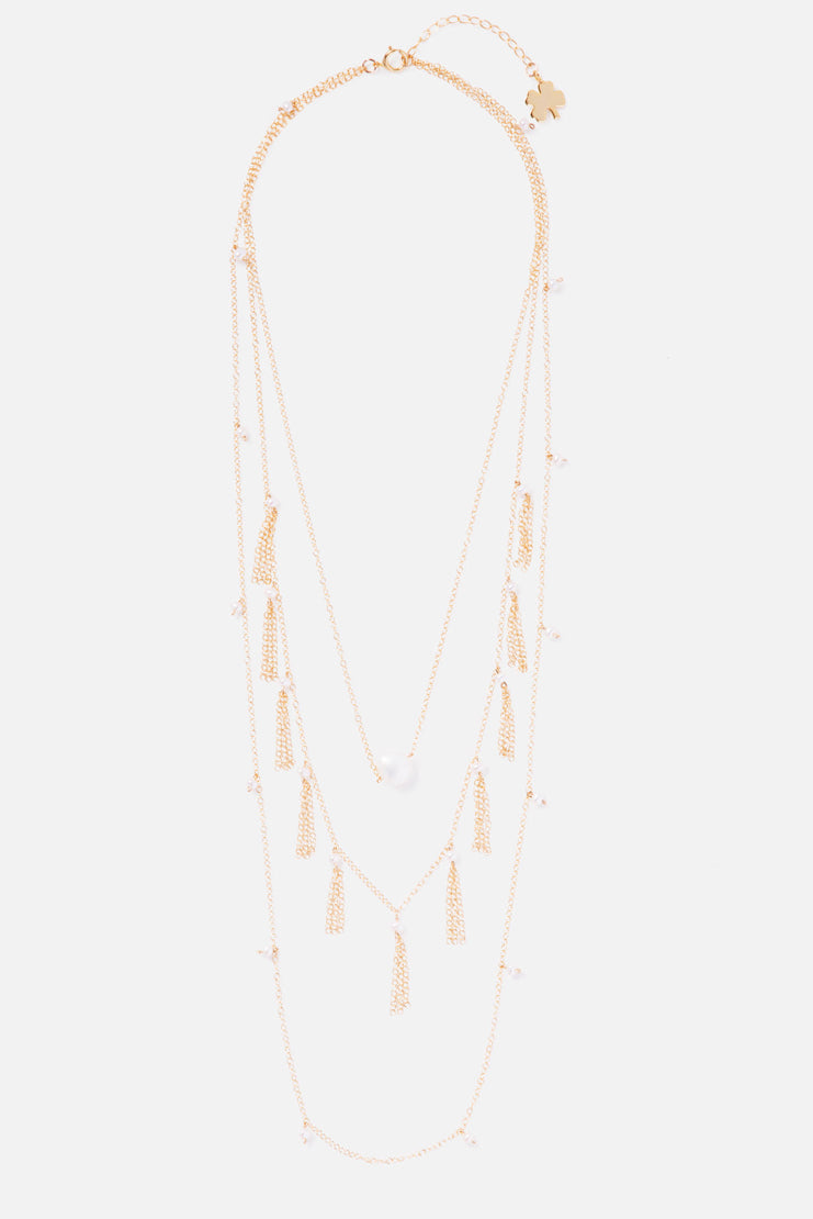 Empire 14K Gold Filled Layered Necklace