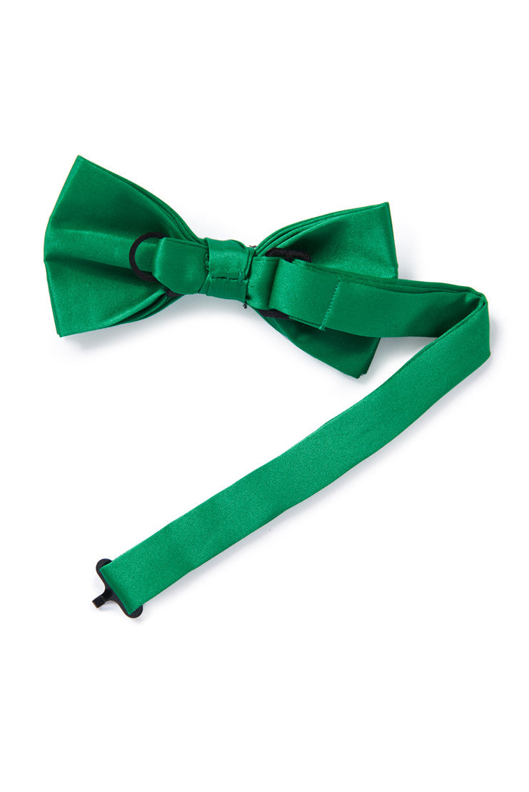 Green Banded Bow Tie