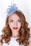 Light Blue Mini Fascinator