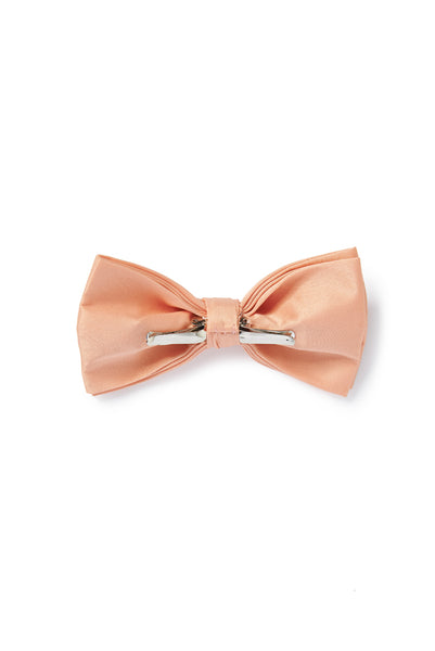 2aa3da5a66bf Pink Nude Satin Bow Tie (Clip-On) – Pippa & Pearl
