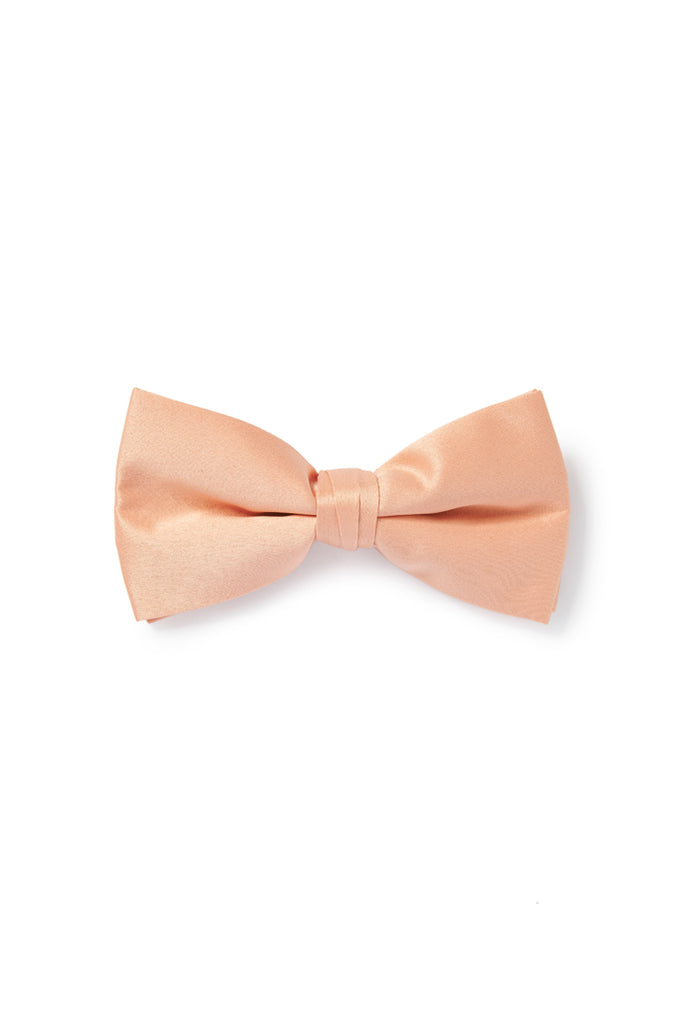 Pink Nude Bow Tie