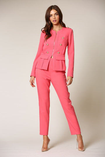 Bali Pink Power Suit