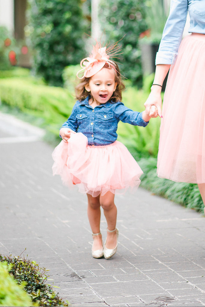 Perfect Pink tulle skirt - toddler | Pippa & Pearl KL93