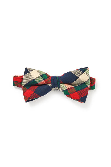 Plaid Bow Tie - Multi