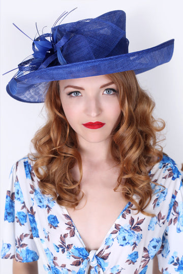 Royal Blue Sun Hat