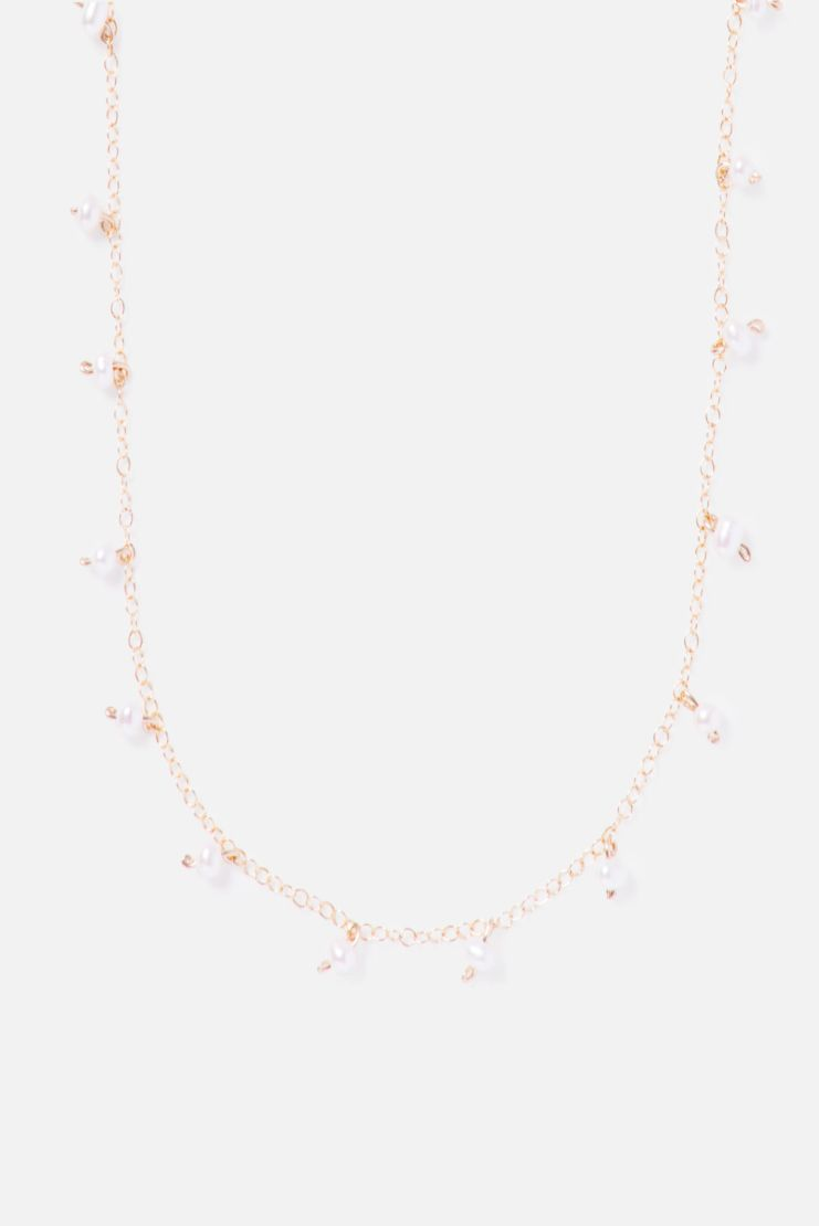 Sputnik 14K Gold Filled Sprinkled Necklace