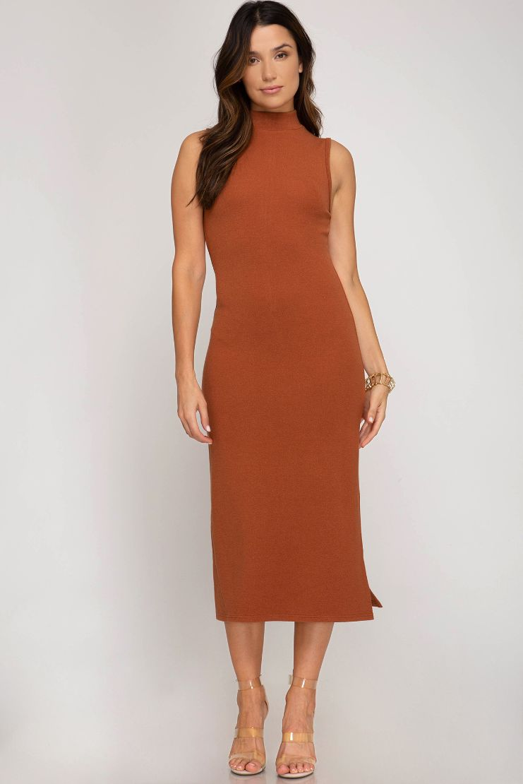 Kalani Sleeveless Midi Dress