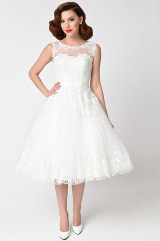 """Marry Me"" Bridal Swing Dress"