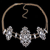 Rhinestone 3 Diamond Belly Chain