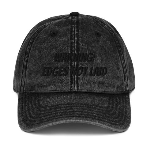 Edges not laid Vintage Cap (B)