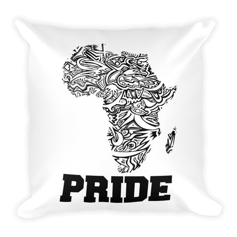 African Pride Square Pillow