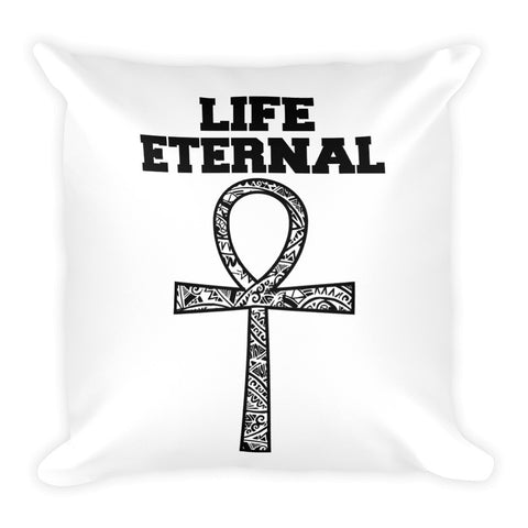 Life Eternal Square Pillow