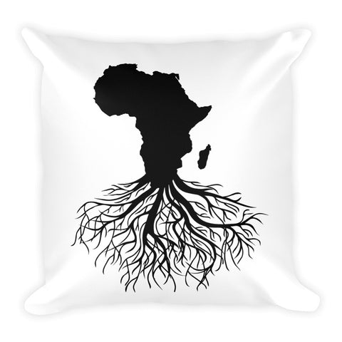 Roots of Humanity Square Pillow