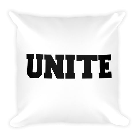 Minority Equal Majority Square Pillow