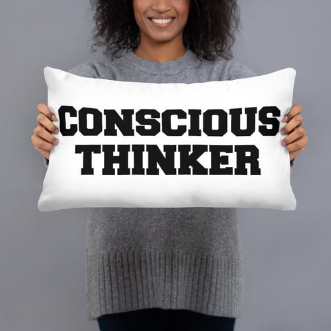 Minded & Conscious Pillow (W)