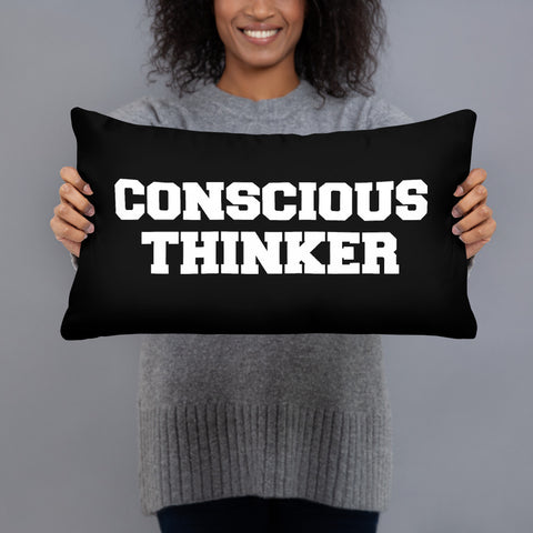 Minded & Conscious Pillow (B)