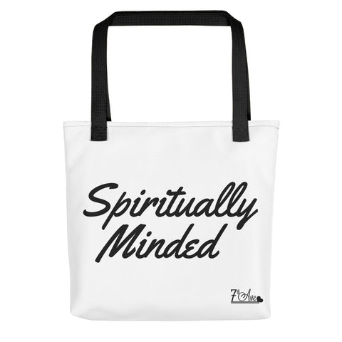Spiritually Minded Tote bag
