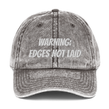 Edges not laid Vintage Cap