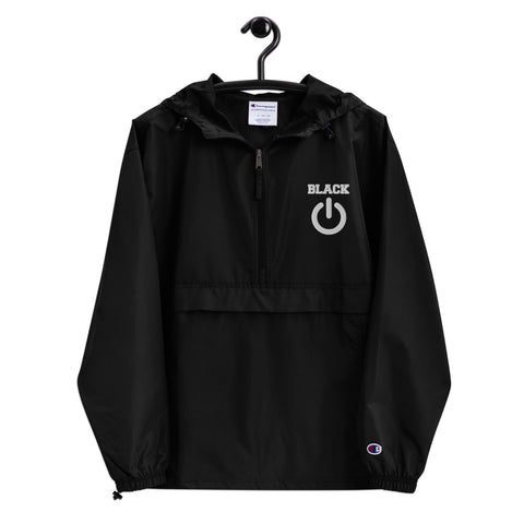 Black Power Packable Jacket(W)