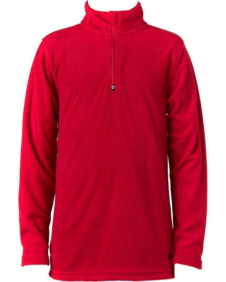 BOYS 1/4 ZIP THROUGH MICROFLEECE