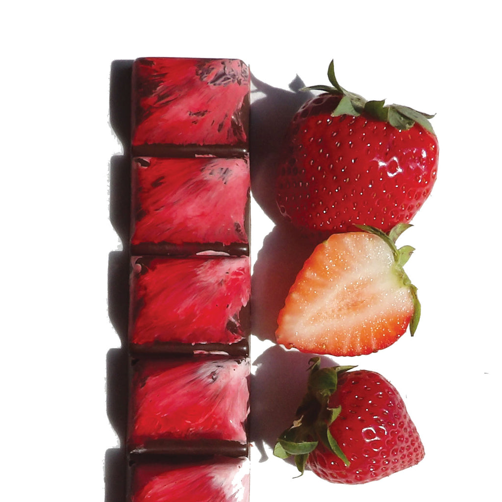 Strawberry Balsamic Filled Bar