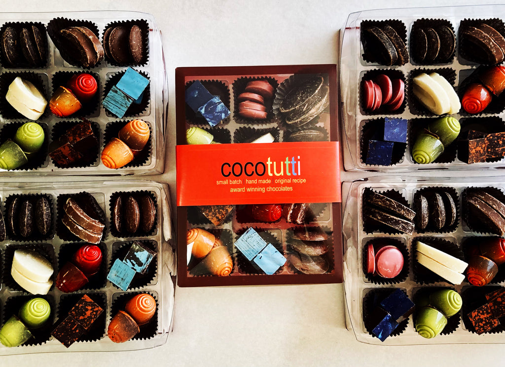 Chocolate tasting boxes