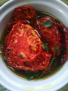 Slow Roasted Oil Packed Tomatoes
