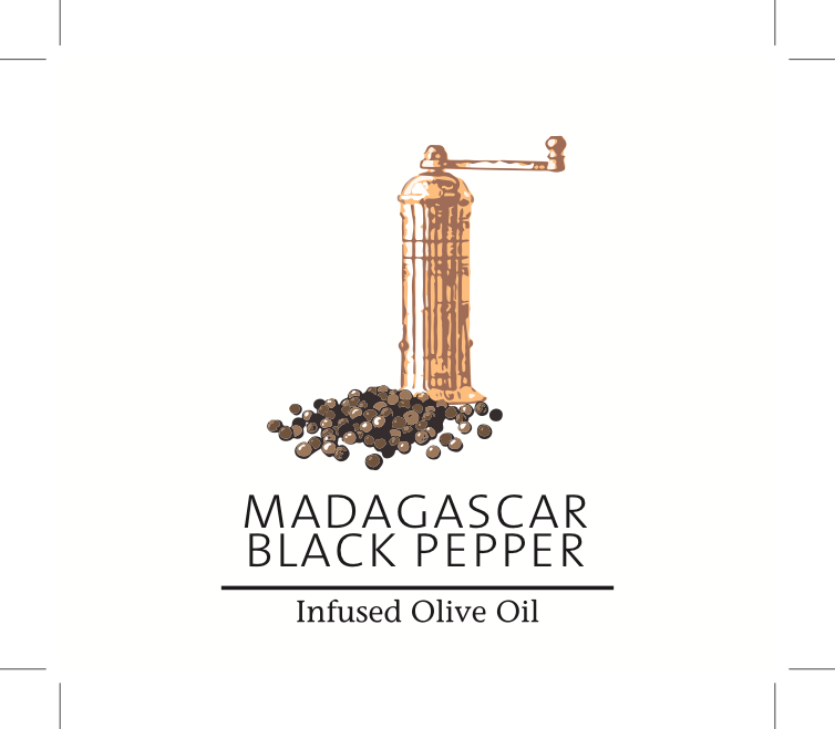 Madagascar Black Peppercorn Olive Oil