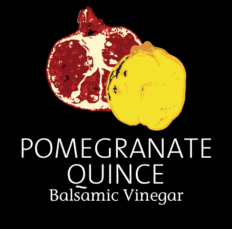 Pomegranate-Quince Balsamic Vinegar