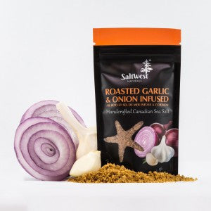 Organic Roasted Garlic & Onion Sea Salt