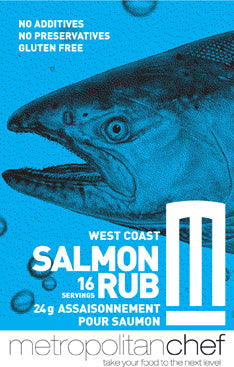 West Coast Salmon Rub