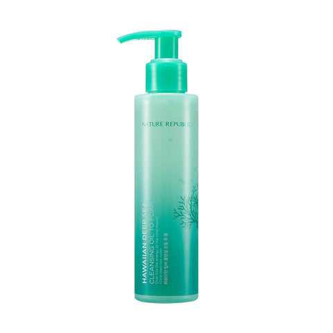 HAWAIIAN DEEP SEA CLEANSING OIL TO FOAM