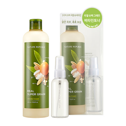 REAL SUPER GRAIN VITAMIN TONER SPECIAL SET