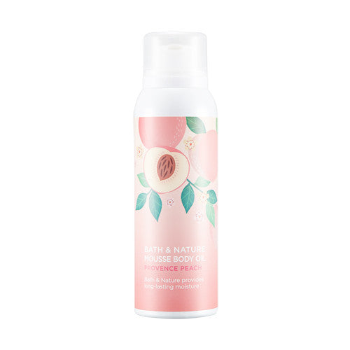 BATH&NATURE PROVENCE PEACH MOUSSE BODY OIL