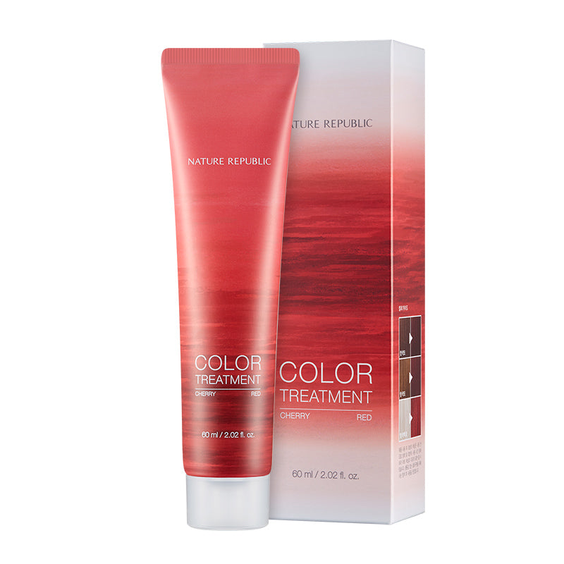 HAIR&NATURE COLOR TREATMENT CHERRY RED