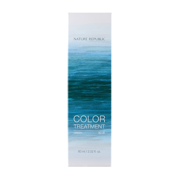 HAIR&NATURE COLOR TREATMENT GREEN BLUE