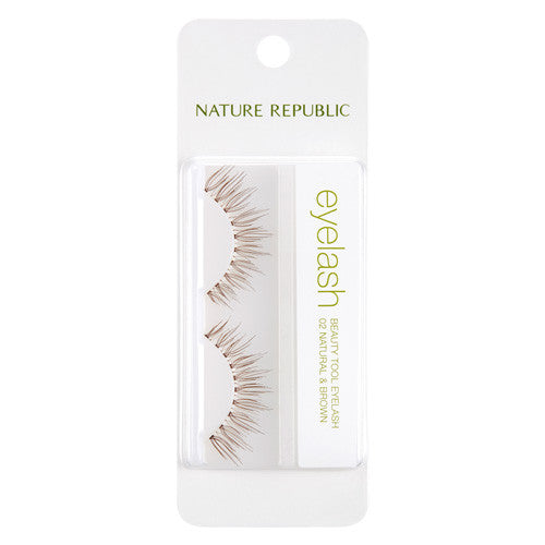 BEAUTY TOOL EYELASH 02 NATURAL & BROWN
